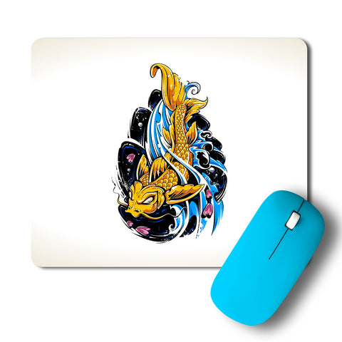 Fish Intricate Artwork Mousepad