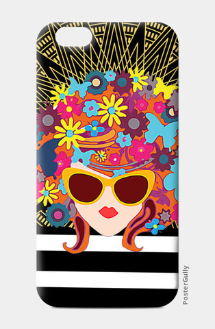 Butterfly Girl iPhone 6/6S Cases | Artist : Design_Dazzlers