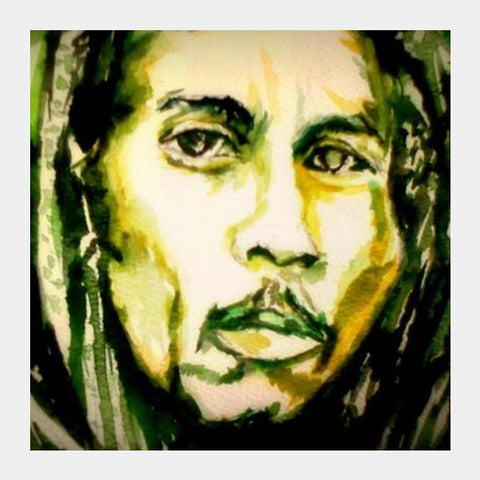 Square Art Prints, bob marley Square Art Prints | Artist : abhrodeep mukherjee, - PosterGully