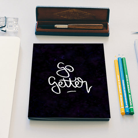Motivational Typography Notebook | Artist : Stuti Bajaj