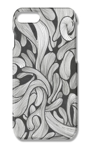Abstract doodle iPhone 7 Cases | Artist : Raj Patel