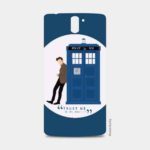 One Plus One Cases, The Doctor and TARDIS One Plus One Case | Artist: Mohak Gulati, - PosterGully