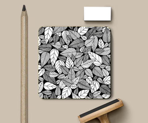 Coasters, Leaf mess Coasters | Artist : Salonee Vichare, - PosterGully