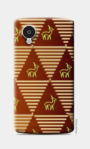 Pyramid Pattern Nexus 5 Cases | Artist : Pallavi Rawal