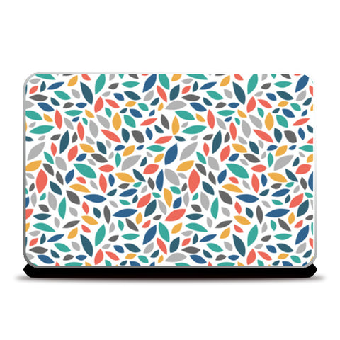 Multicolor Leaves Laptop Skins | Artist : Creative DJ