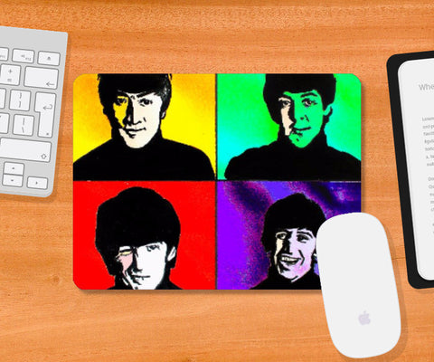 Mousepad, The Beatles 2 Mousepad | Pritika Uppal, - PosterGully