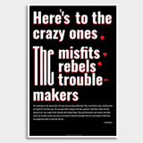 Troublemakers Giant Poster | Artist : Scatterred Partikles