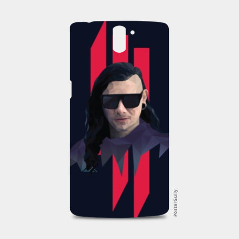 One Plus One Cases, Skrillex Low Poly One Plus One Case | Artist: Mohak Gulati, - PosterGully