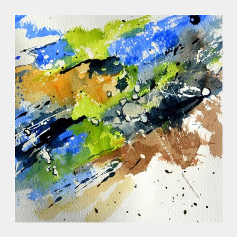 Square Art Prints, watercolour 7012 Square Art Prints | Artist : pol ledent, - PosterGully