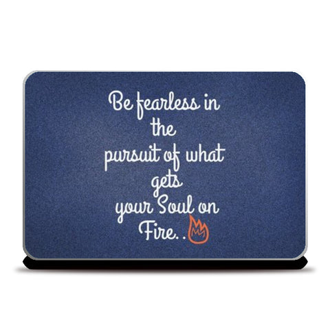 Be Fearless Laptop Skins | Artist : Pallavi Rawal