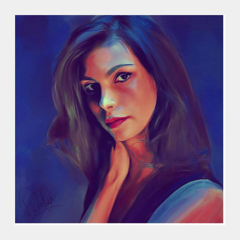 Morena Baccarin Square Art Prints PosterGully Specials