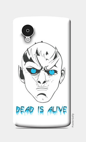 Nexus 5 Cases, Game of Thrones - White Walker Nexus 5 Cases | Artist : Charcoal, - PosterGully