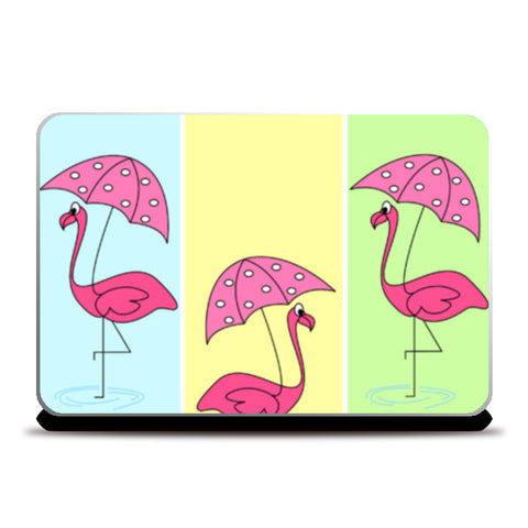 Flamingo Laptop Skins | Artist : mytablecreations