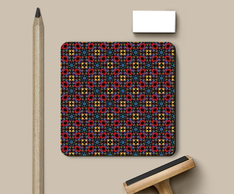 Decorative Patterns 10 Coasters | Artist : Delusion