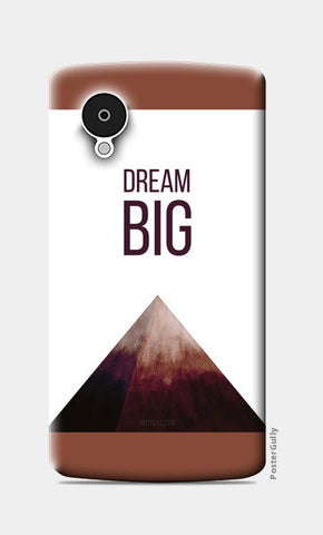 DREAM BIG Nexus 5 Cases | Artist : Anagha Mirgal