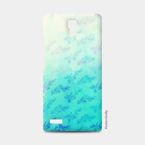 Blue Floral Water Colour Redmi Note Cases | Artist : Amantrika Saraogi