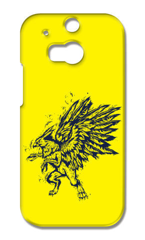 Mythology Bird HTC One M8 Cases | Artist : Inderpreet Singh