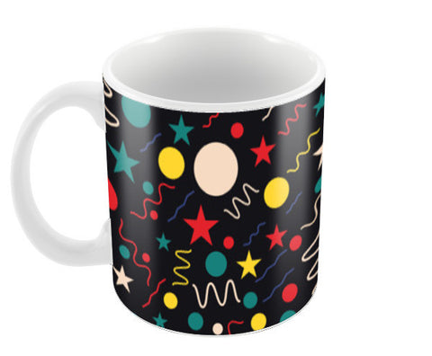 Seamless abstract pattern with geometric shapes Coffee Mugs | Artist : Designerchennai