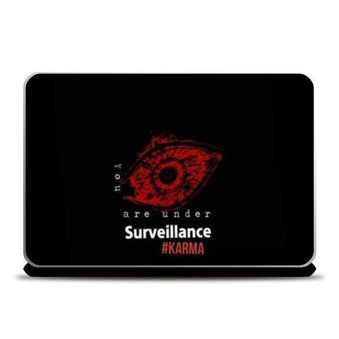 Laptop Skins, KARMA COVER Laptop Skins | Artist : nilesh gupta, - PosterGully