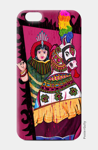 Folk Art | Poikaal Kudirai iPhone 6/6S Cases | Artist : Ramkumar Kolappan