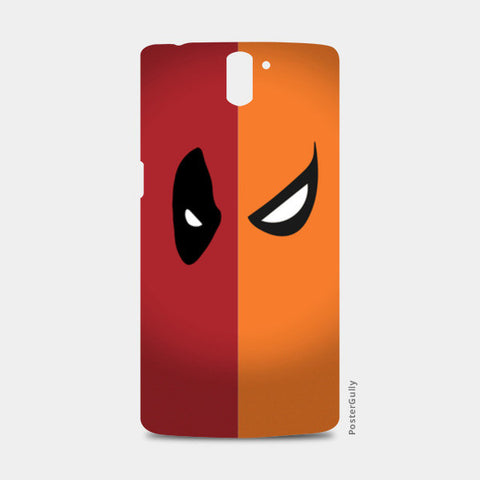 One Plus One Cases, DeadPool vs DeathStroke One Plus One Cases | Artist : Angad Singh, - PosterGully