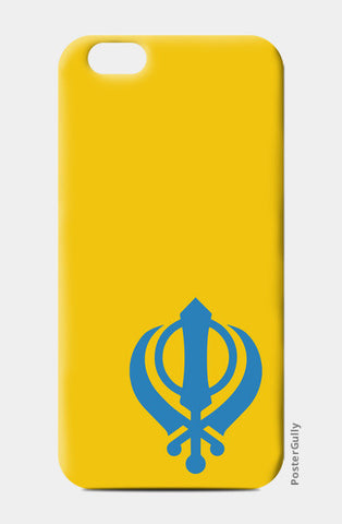iPhone 6 / 6s Cases, Khanda iPhone 6 / 6s Cases | Artist : Gagandeep Singh, - PosterGully