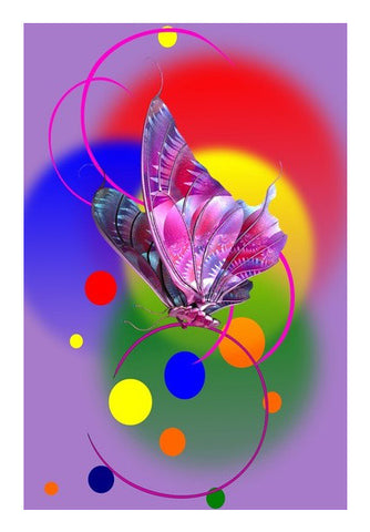Butterfly in Dream Wall Art | Artist : Amar Singha