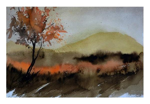 PosterGully Specials, Misty landscape Wall Art  | Artist : pol ledent, - PosterGully