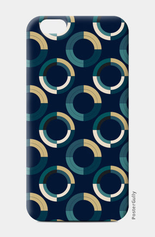 Fashionable 3d circle pattern iPhone 6/6S Cases | Artist : Designerchennai