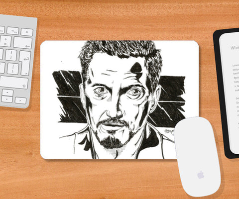 Robert Downey Jr. Artwork Mousepad | Artist : Anupam Prasoon