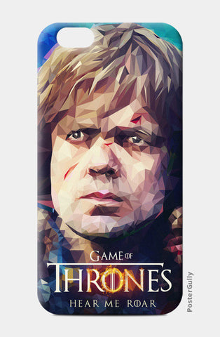 iPhone 6 Cases, Hear me roar - Tyrion Lannister Polygon Portrait iphone 6 case | cuboidesign, - PosterGully