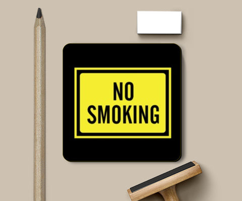 Coasters, NO SMOKING Coasters | Artist : Sonia Punyani, - PosterGully