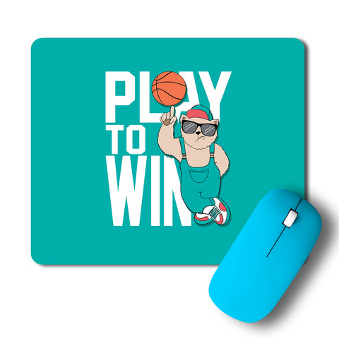 Play To Win Artwork Mousepad