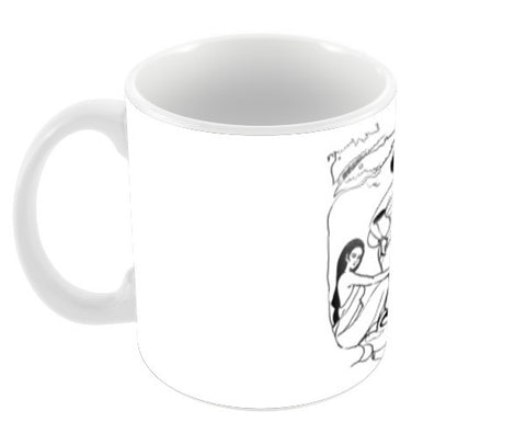 Chat Coffee Mugs | Artist : Sanjay Ghosh