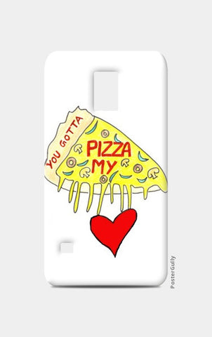 Pizza Love Samsung S5 Cases | Artist : Ajooni Singh