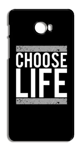 Choose Life Xiaomi Mi Note 2 Cases | Artist : Designerchennai
