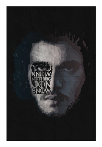 GOT Jon Snow Art PosterGully Specials