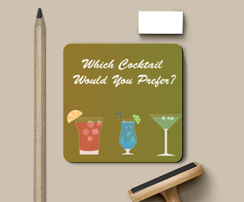 Cocktail Drink  Coasters | Artist : Ria Shah