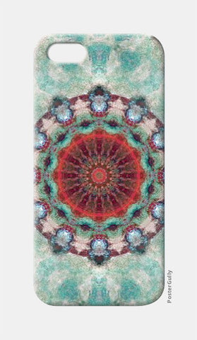 iPhone 5 Cases, red kaleidoscope iPhone 5 Case | Artist: harshad parab, - PosterGully