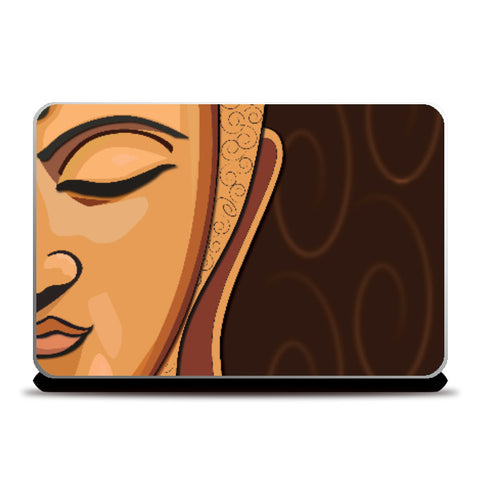 Laptop Skins, Buddah Laptop Skin | Artist : Sidhant Sharma, - PosterGully