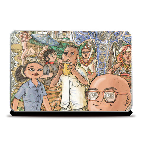 Laptop Skins, Colombo Memories Laptop Skins | Artist : Charbak Dipta, - PosterGully