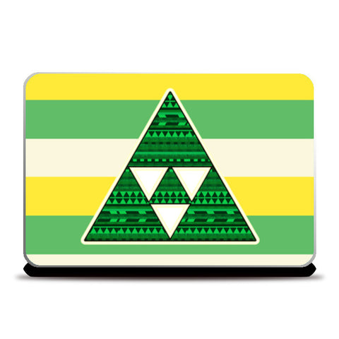 Cool Triangle Laptop Skins | Artist : Design_Dazzlers