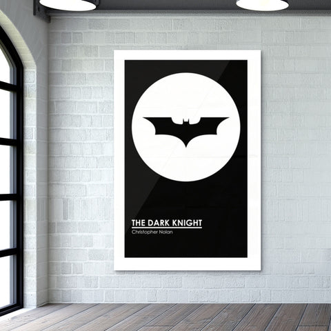 THE DARK KNIGHT MINIMAL  Giant Poster | Artist : Naman Kapoor