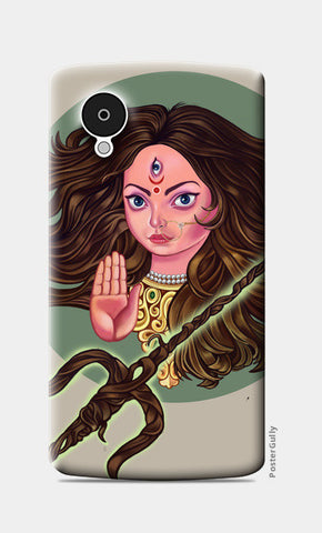 Nexus 5 Cases, Durga Nexus 5 Case | chaitanya kumar, - PosterGully