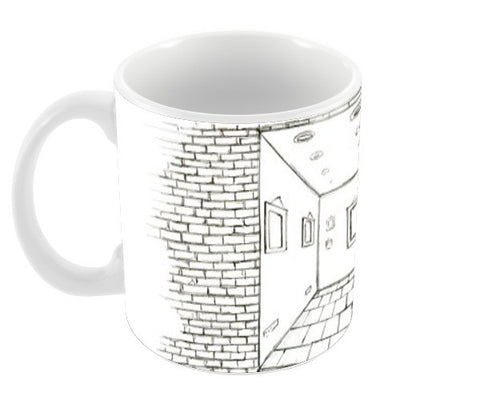 Gallery in the middle of nowhere Coffee Mugs | Artist : kartikey sharma