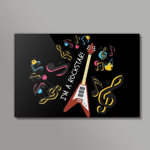 MUSIC LOVER Metal Prints | Artist : Pallavi Rawal