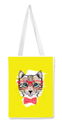 Tote Bags, Meoww Tote Bags | Artist : Poornima Kapoor, - PosterGully