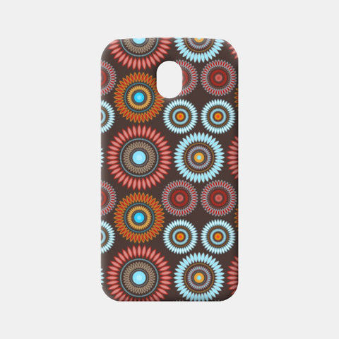 Flower Mandala Seamless Pattern Moto G3 Cases | Artist : Designerchennai