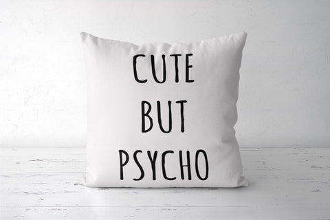 Cute But Psycho Minimal Cushion Covers | Artist : Gub Gub