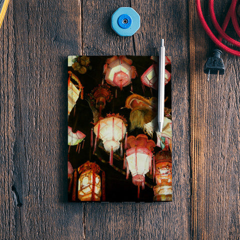 Chinese Lanterns  Notebook | Artist : Tara Isha